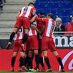 League Santander 2017-2018 - Game: 15.<br /> RCD Espanyol vs Girona FC: 0-1.