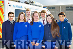 Killarney students at the Road Safety Promoation held by The Road Safety Authority ans Killarney Motor and District club held in St Brendans College on Tuesday morning l-r: Aldo Alvirde Leah McMonagle, Alan Harte, Emma Finn, Shane Looney, Shona Collins, Guillermo Chaires