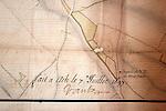 20060213 - France - Vincennes<br />COULISSES DU CHATEAU DE VINCENNES : DETAIL DE LA SIGNATURE DE VAUBAN AU BAS DU PLAN DE LA VILLE D'ATH<br />Ref: COULISSES_DU_CHATEAU_025 - © Philippe Noisette