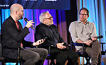 Lee Seymour, Charlie Flateman and Kurt Deutsch on stage during Broadwaycon at New York Hilton Midtown on January 11, 2019 in New York City.