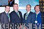 John Francis Foley Killorglin, Michael Moynihan TD Kiskeam, Cllr John Joe Culloty and Brian Sugrue Glenbeigh at the Fianna Fail Ard Feis in Killarney on Saturday