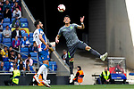 Real Sociedad's Hector Moreno and RCD Espanyol's Borja Iglesias  during La Liga match. May, 18th,2019. (ALTERPHOTOS/Alconada)
