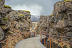 Mid-atlantic rift at Thingvellir.