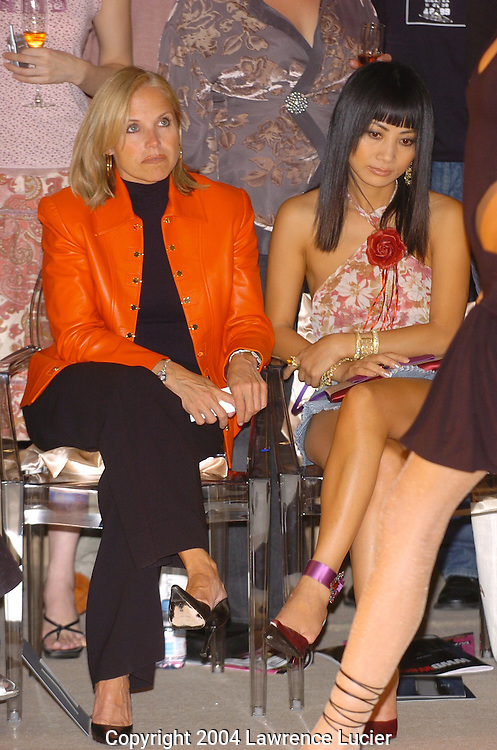 Katie Couric and Bai Ling