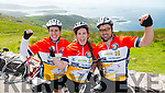Leah Kelly, Merissa Foley and Ultan Foley all Cromane at the Ring of Kerry cycle on Saturday.