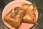 French Toast, Granny Feelgoods Restaurant, Downtown Miami, Florida