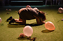 "National Theatre of Scotland present ""Midsummer"", written by David Greig and Gordon McIntyre, at the Hub, as part of the Edinburgh International Festival. Directed by Kate Hewitt. Picture shows: Sarah Hggins."