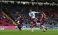 Blackburn Rovers' Danny Graham has an attempt at goal<br /> <br /> Photographer Rachel Holborn/CameraSport<br /> <br /> The EFL Sky Bet Championship - Blackburn Rovers v Aston Villa - Saturday 15th September 2018 - Ewood Park - Blackburn<br /> <br /> World Copyright &copy; 2018 CameraSport. All rights reserved. 43 Linden Ave. Countesthorpe. Leicester. England. LE8 5PG - Tel: +44 (0) 116 277 4147 - admin@camerasport.com - www.camerasport.com