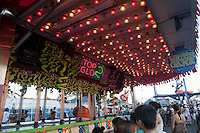 Top Glo 2 Carnival Game is pictured in Coney Island's Luna Park in New York city borough of Brooklyn, Sunday July 31, 2011. The second incarnation of Luna Park opened on the former site of the nearby Astroland amusement park in 2010.