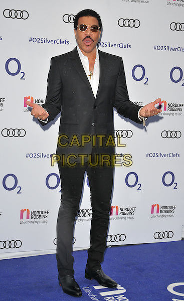 Lionel Richie at the Nordoff Robbins O2 Silver Clef Awards 2016, Grosvenor House Hotel, Park Lane, London, England, UK, on Friday 01 July 2016.<br /> CAP/CAN<br /> &copy;CAN/Capital Pictures