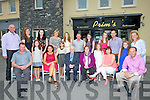 80TH: Pat Dineen (Ballyheigue) who celebrated his 80th birthday in Prims Restaurant on Friday evening with his family, Children and grandchildren. Front l-r: John,Vivienne,Mary,Niamh,Pat (birthday boy) and Hanna Dineen, Melanie Dineen Higgins,Ann Marie Dineen, Heather McNamara and Kevin Dineen. Back l-r: Tom Dineen, Grace Dineen,Stacy Dineen-Higgins, Bernadette Dineen, Hannah Dineen, Sean Higgins, Shauna Dineen-Higgins, Kate,Mike and Mary Ellen Dineen.