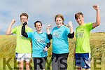 l-r  Alex Daly, Hazel O'Shea, Anna O'Shea and Conor Ahern at the BANNA Beast Cross Fit Challenge on Saturday