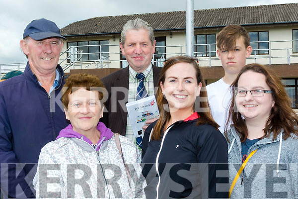 Having a flutter on the horses in Ballybeggan were L-R Pat O'Connor, Catherine O'Sullivan, Jim Kelly, Katie O'Sullivan, James Kelly and Sharon O'Sullivan.