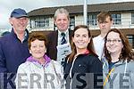 Having a flutter on the horses in Ballybeggan were L-R Pat O'Connor, Catherine O'Sullivan, Jim Kelly, Katie O'Sullivan, James Kelly and Sharon O'Sullivan.