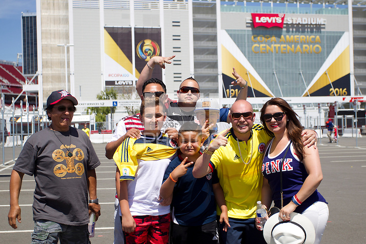 Photo before the match United States vs Colombia, Corresponding Group -A- America Cup Centenary 2016, at Levis Stadium<br /> <br /> Foto previo al partido Estados Unidos vs Colombia, Correspondiante al Grupo -A-  de la Copa America Centenario USA 2016 en el Estadio Levis, en la foto: Fans<br /> <br /> <br /> 03/06/2016/MEXSPORT/Victor Posadas.