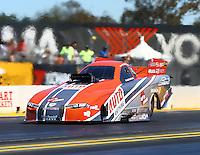 Jul 30, 2016; Sonoma, CA, USA; NHRA funny car driver Brandon Welch during qualifying for the Sonoma Nationals at Sonoma Raceway. Mandatory Credit: Mark J. Rebilas-USA TODAY Sports