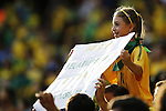 Brazil kids fans (BRA),<br /> JULY 4, 2014 - Football / Soccer : FIFA World Cup Brazil 2014 Quarter Final match between Brazil 2-1 Colombia at the Castelao arena in Fortaleza, Brazil. <br /> (Photo by AFLO)