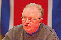Keith Bennett CPGB-ML uses the occassion of Kim Il-sung's birth Commemoration to present the real reasons why the current Korean crisis has been whipped up by US Imperialism The event was attended by Mr. Hyon Hak Bong Ambassador to UK of the DPR Korea Saklatvala Hall Southall 14th April 2013.