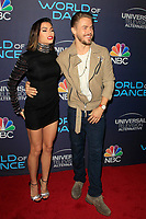 "LOS ANGELES - SEP 19:  Jenna Dewan Tatum, Derek Hough at the ""World of Dance"" Celebration at the Delilah on September 19, 2017 in West Hollywood, CA"