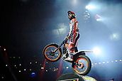 3rd February 2019, Palau Sant Jordi, Barcelona, Spain; FIM X Trial World Championships; Toni Bou of the Repsol Honda Team in action during the Trial Barcelona