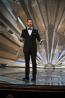 Jimmy Kimmel hosts The 90th Oscars&reg; at the Dolby&reg; Theatre in Hollywood, CA on Sunday, March 4, 2018.<br /> *Editorial Use Only*<br /> CAP/PLF/AMPAS<br /> Supplied by Capital Pictures