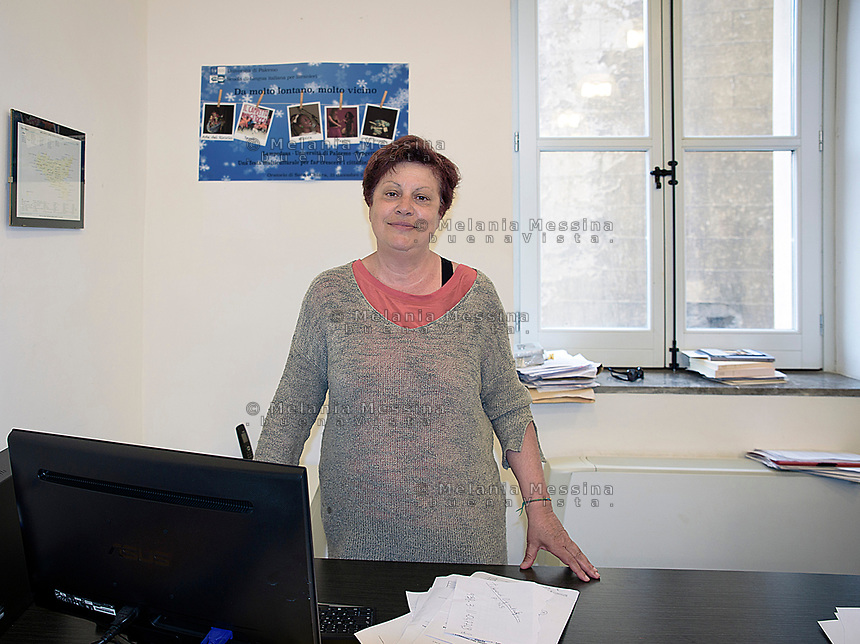 La professoressa Mari D'Agostino dell'universit&agrave; degli studi di Palermo e direttrice di ITASTRA, la scuola di lingua italiana per migranti a Palermo.<br />