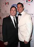 Matt Lenz & Nicholas Rodriguez attending the Broadway Dreams Foundation's 'Champagne & Caroling Gala' at Celsius at Bryant Park, New York on December 10, 2012