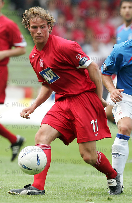 Chris Clark, Aberdeen.stock season 2004-2005.pic willie vass