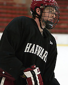 Dan Ford (Harvard - 5) - The Harvard University Crimson practiced on Friday, October 22, 2013, at Bright-Landry Hockey Center in Cambridge, Massachusetts.