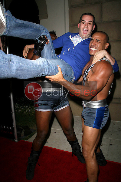 Ross Mathews with Justice and Militia<br />at the Summer Stars Party hosted by InTouch Weekly and ISH. Social Hollywood, Hollywood, CA. 05-22-08<br />Dave Edwards/DailyCeleb.com 818-249-4998