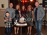 Justine McGuirk celebrating her 21st birthday in the Thatch with her parents Joe and Catherine, brother Anthony, sister Emma and Emma's partner Gavin Byrne. Photo:Colin Bell/pressphotos.ie