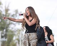 Mariana Ochoa, durante su presentacion en el concierto Exa 2013 en Leon Guanajuato.<br /> (*Foto:TiradorTercero/NortePhoto*) ...<br /> ,OV7