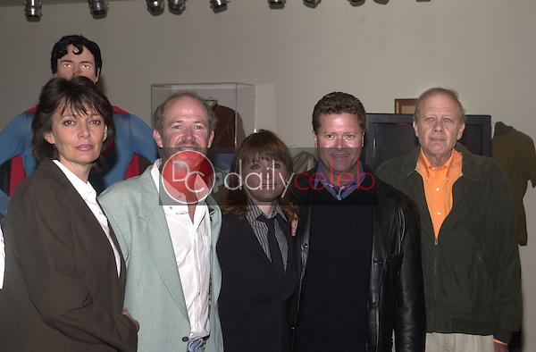 Sarah Douglas, Marc McClure, Margot Kidder, Jeff East and Tom Mankiewicz