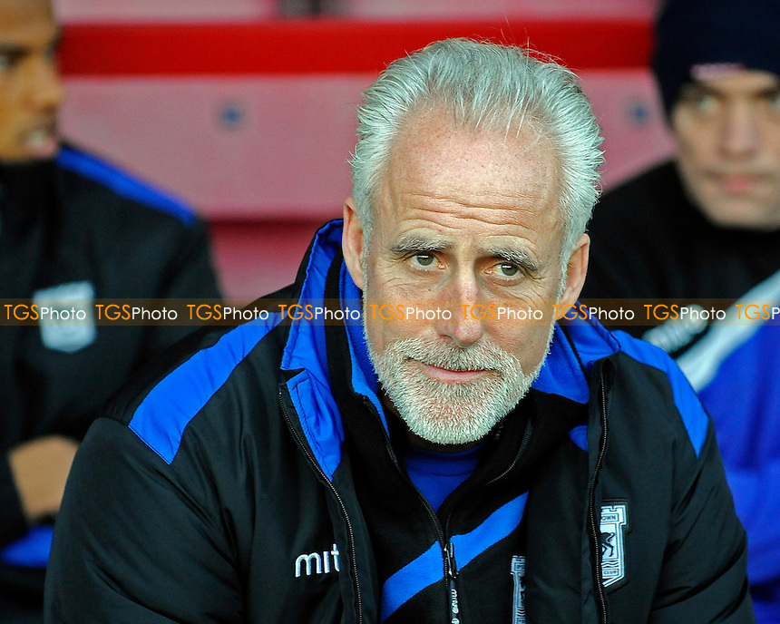 Ipswich Town Manager Mick McCarthy - AFC Bournemouth vs Ipswich Town - Sky Bet Championship Football at the Goldsands Stadium, Bournemouth, Dorset - 29/12/13 - MANDATORY CREDIT: Denis Murphy/TGSPHOTO - Self billing applies where appropriate - 0845 094 6026 - contact@tgsphoto.co.uk - NO UNPAID USE