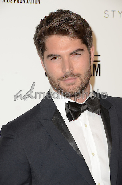 28 February 2016 - West Hollywood, California - Nick Bateman. 24th Annual Elton John Academy Awards Viewing Party sponsored by Bvlgari, MAC Cosmetics, Neuro Drinks and Diana Jenkins held at West Hollywood Park. Photo Credit: Birdie Thompson/AdMedia