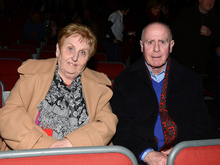 Frank and Ann Clarke pictured at the Showband show in the TLT. Photo:Colin Bell/pressphotos.ie