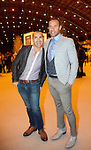 © licensed to London News Pictures. London, UK  08/06/2011. Graduate Fashion Week 2011, Gala Show. Louie Spence and Jason Gardiner attending GFW. Please see special instructions for usage rates. Photo credit should read Bettina Strenske/LNP