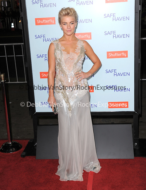 Julianne Hough at The Relativity Media US Premiere of Safe Haven held at The Grauman's Chinese Theater in Hollywood, California on February 05,2013                                                                   Copyright 2013 Hollywood Press Agency
