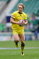 Jesse Parahi of Australia in action during Day Two of the iRB Marriott London Sevens at Twickenham on Sunday 11th May 2014 (Photo by Rob Munro)