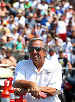 Aug. 3, 2014; Kent, WA, USA; NHRA team owner Don Schumacher during the Northwest Nationals at Pacific Raceways. Mandatory Credit: Mark J. Rebilas-
