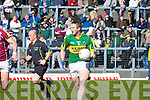 Kerry's Tomas O'Se is stopped by Galwey's Finian Hanley during their Allianz National Football League clash in Killarney last Sunday