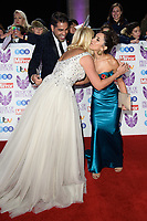 LONDON, UK. October 29, 2018: Dr. Raj Singh, Holly Willoughby &amp; Jannette Manrara at the Pride of Britain Awards 2018 at the Grosvenor House Hotel, London.<br /> Picture: Steve Vas/Featureflash