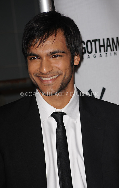 WWW.ACEPIXS.COM . . . . . ....October 14 2009, New York City....Actor Arjun Gupta arriving at the 'Motherhood' premiere hosted by Gotham magazine at the SVA Theater on October 14, 2009 in New York City.....Please byline: KRISTIN CALLAHAN - ACEPIXS.COM.. . . . . . ..Ace Pictures, Inc:  ..tel: (212) 243 8787 or (646) 769 0430..e-mail: info@acepixs.com..web: http://www.acepixs.com