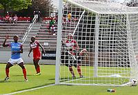 BOYDS, MD - May 26 2014: Washington Spirit v Houston Dash in a NWSL match at Maryland Sportsplex, in Boyds, Maryland. Spirit won 3-2.