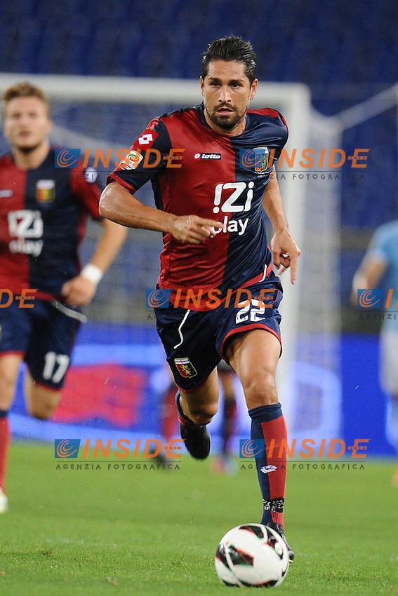 Marco Borriello (Genoa).23/09/2012 Roma.Stadio Olimpico.Football Calcio 2012 / 2013 .Campionato di Calcio Serie A.Lazio vs Genoa 0-1.Foto Insidefoto / Antonietta Baldassarre.