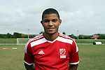10 January 2016: Omar Holness (JAM) (North Carolina). The adidas 2016 MLS Player Combine was held on the cricket oval at Central Broward Regional Park in Lauderhill, Florida.