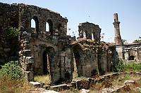 The so-called Broken Minaret, Antalya, Turkey