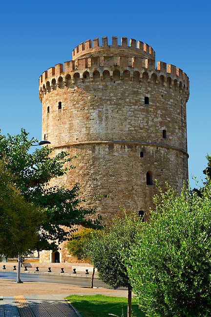 The Ottoman White Tower of Thessaloniki (15351536), symbol of Thealonika. Greece