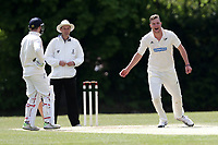 Finchley claim the fifth Brondesbury wicket during Finchley CC vs Brondesbury CC (batting), ECB National Club Championship Cricket at Arden Field on 12th May 2019