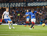 02.08.18 Rangers v FK Osijek: James Tavernier lets fly